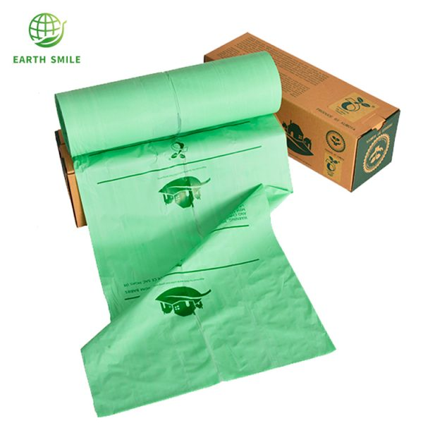 Eco friendly bin liners perforated radiant barrier